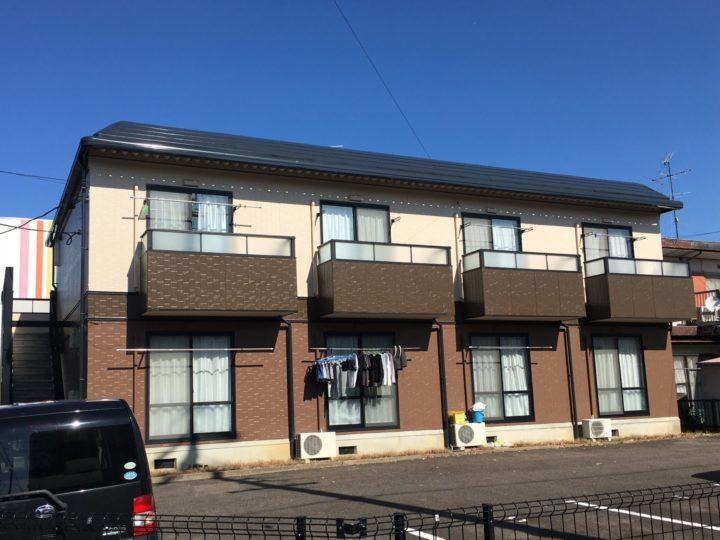岩倉市 Sアパート様 外壁塗装・屋根塗装