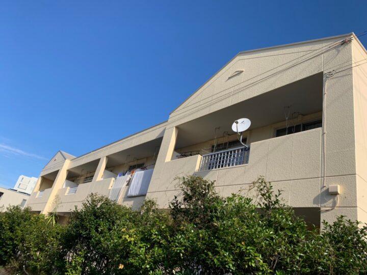 江南市 Hアパート様 外壁塗装・屋根塗装