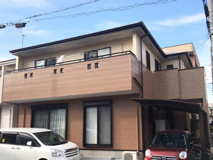 一宮市 M様 外壁塗装・屋根塗装・防水工事