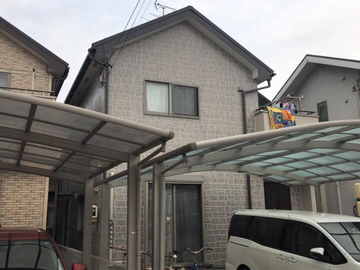 春日井市 S様 外壁塗装・屋根工事・防水工事