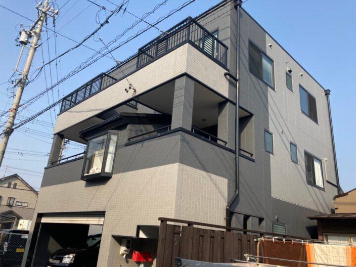 各務原市 S様 外壁塗装・屋根工事・防水工事
