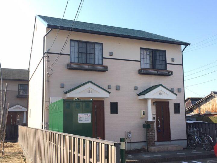 一宮市 Dアパート様 外壁塗装・屋根塗装