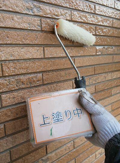 外壁クリア塗装②