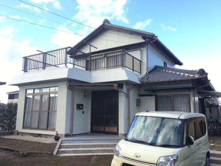 犬山市 A様 外壁塗装・屋根工事・防水工事