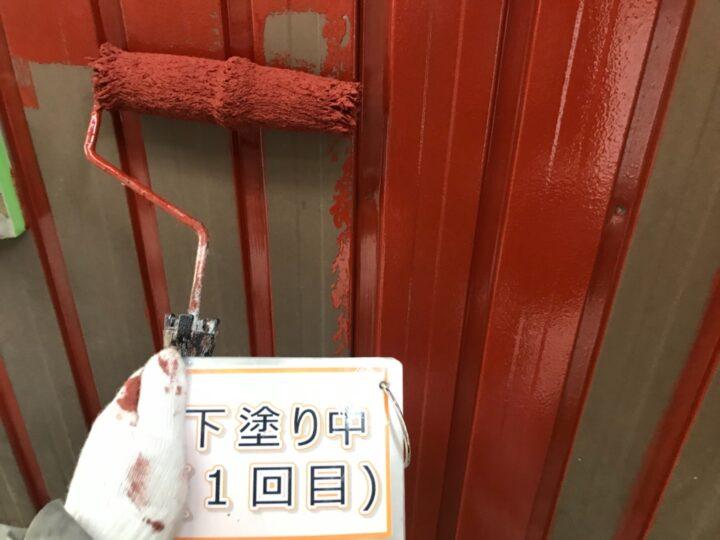 外壁塗装(トタン)②
