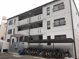 一宮市 Vアパート様A棟 外壁塗装・屋根塗装