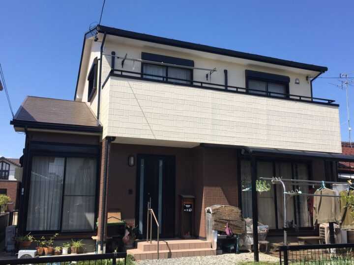 一宮市 S様 外壁塗装・屋根塗装・防水工事