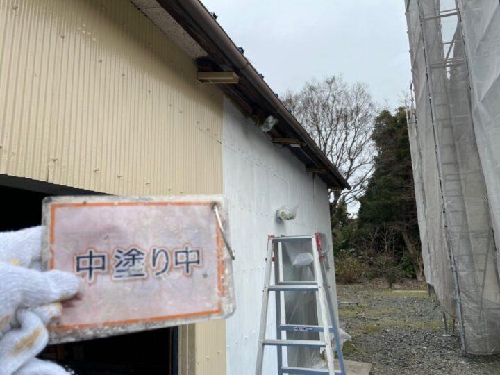 倉庫塗装②