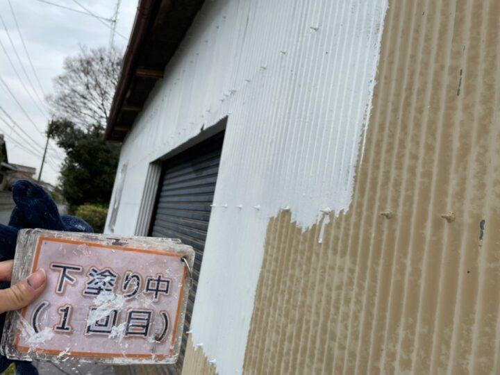 倉庫塗装①