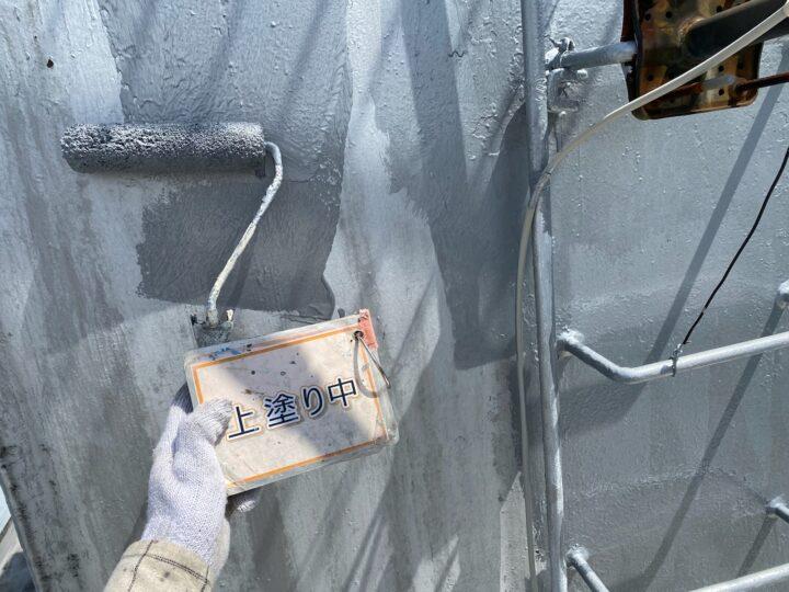 貯水タンク塗装②