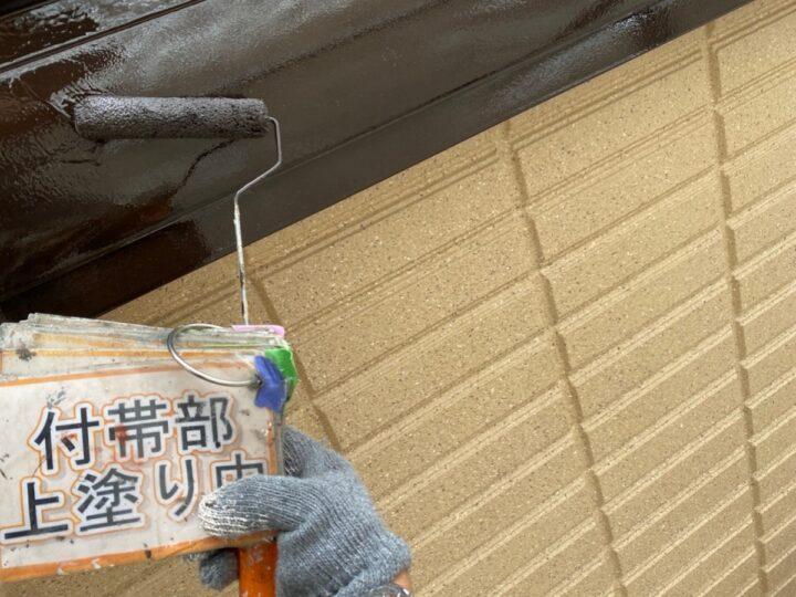 幕板塗装③