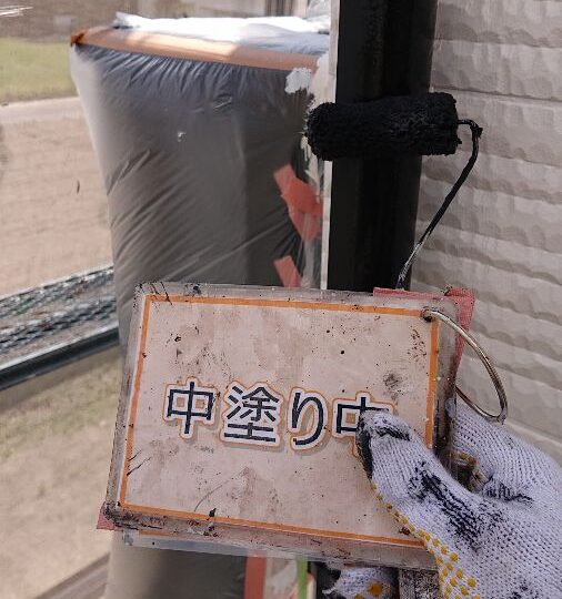 雨樋塗装①