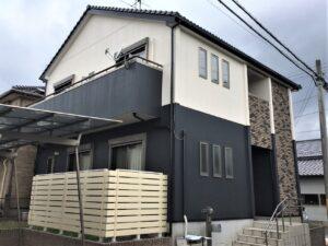 稲沢市 F様 外壁塗装・防水工事