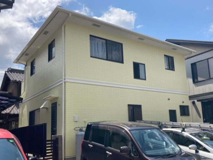 一宮市 N様 外壁塗装・屋根工事・防水工事